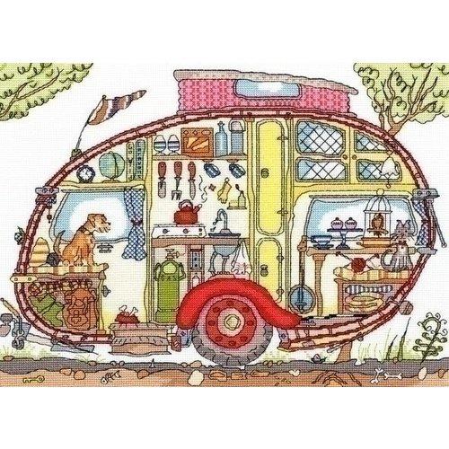 Bothy Threads Bothy Threads Cut Thru Vintage Caravan XCT21
