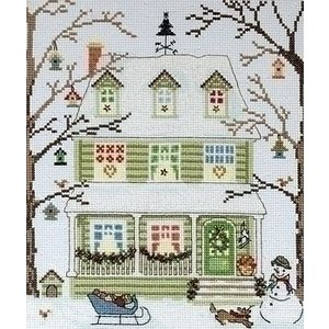 Bothy Threads Bothy Threads New England Homes Winter XSS4