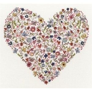 Bothy Threads Bothy Threads Love Heart XKA1