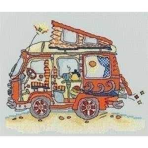 Bothy Threads Bothy Threads Sew Dinky VW Van XSD2
