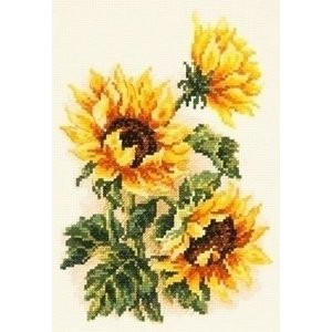 Chudo Igla Borduurpakket Three sunflowers ci-040-078