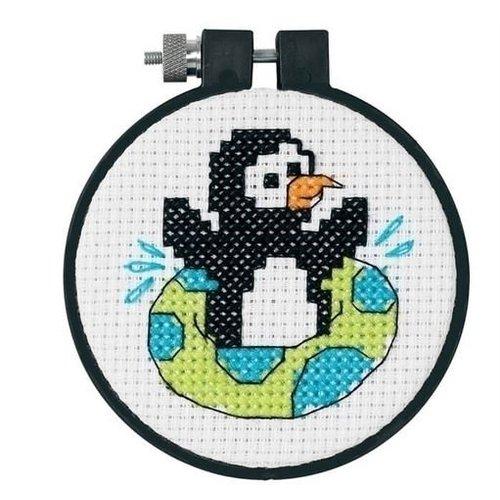 Dimensions Dimensions borduurpakket Playful Penguin 0174339