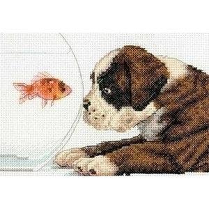 Dimensions Dimsions borduurpakket Dog Bowl 0174356