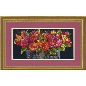 Dimensions Dimensions borduurpakket Flowers of Joy 0178114