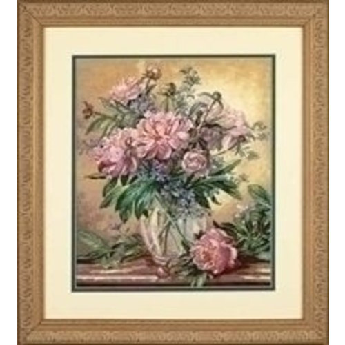 Dimensions Dimensions Peonies and Canterbury Bells 35211