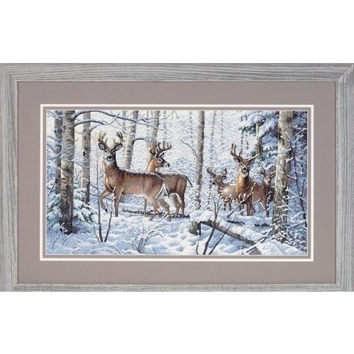 Dimensions Dimensions Woodland Winter 35130