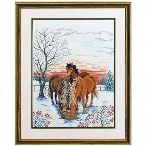 Eva Rosenstand Eva Rosenstand Horses in snow 12-768