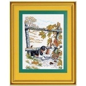 Eva Rosenstand Eva Rosenstand Puppies and hedgehog 12-978