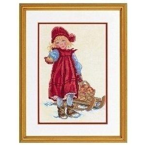 Eva Rosenstand Eva Rosenstand Girl with sledge 12-966
