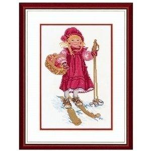 Eva Rosenstand Eva Rosenstand Girl skiing 12-965