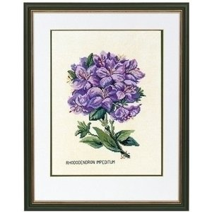 Eva Rosenstand Eva Rosenstand borduurpakket Rododendron 12-894