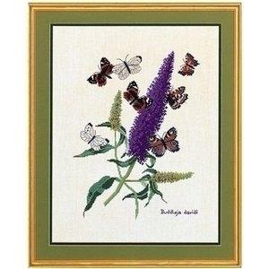 Eva Rosenstand Kruissteek borduren Vlinderplant 12-739