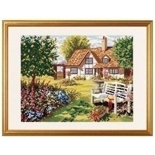 Eva Rosenstand Eva Rosenstand borduurpakket Engels Huis 14-154