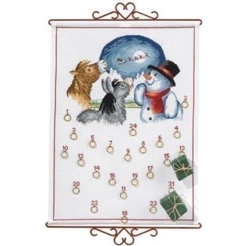 Eva Rosenstand Adventskalender dieren en sneeuwman 15-360