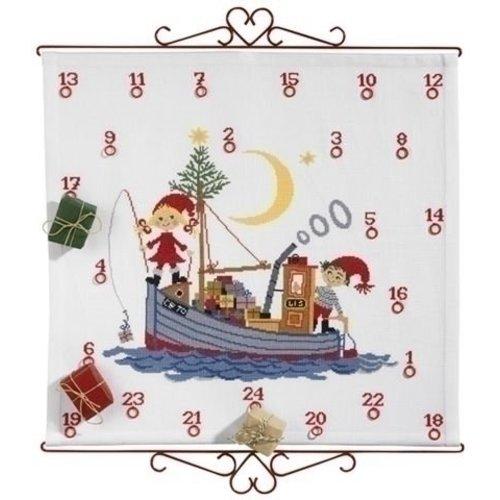 Eva Rosenstand Adventskalender Elfs in boat 08-3731