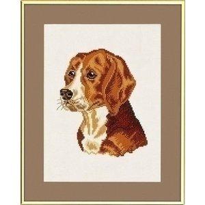 Eva Rosenstand Eva Rosenstand borduurpakket Beagle 12-909