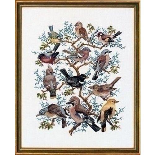 Eva Rosenstand Eva Rosenstand Boom met vogels 12-266