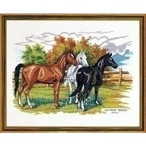 Eva Rosenstand Eva Rosenstand 3 horses 12-474
