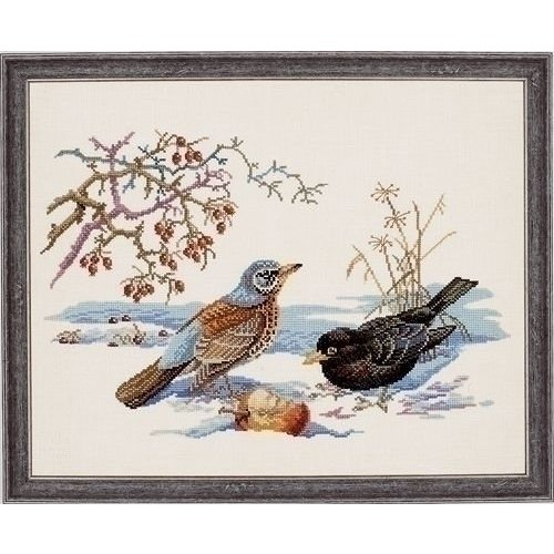 Eva Rosenstand Eva Rosenstand borduurpakket Vogels 12-543