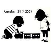 Jip en Janneke geboortetegel Trein 270 002