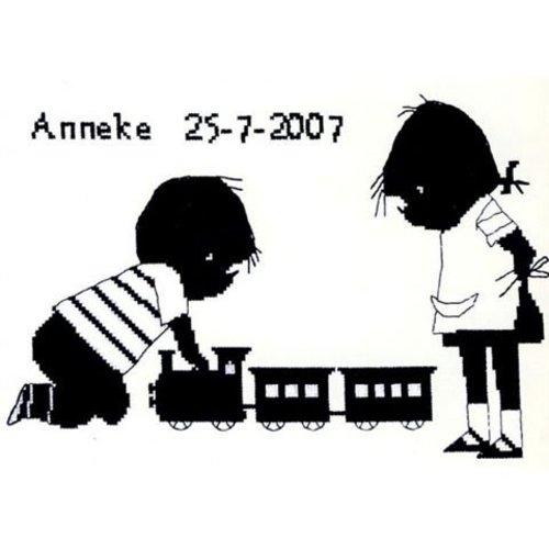 Jip en Janneke Jip en Janneke geboortetegel Trein 270 002
