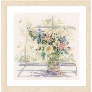 Lanarte Lanarte borduurpakket Bloemen in zonlicht 0168743