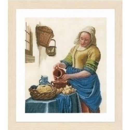 Lanarte Lanarte borduurpakket Het Melkmeisje 0168604