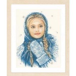 Lanarte Lanarte borduurpakket Wintermeisje 0169674