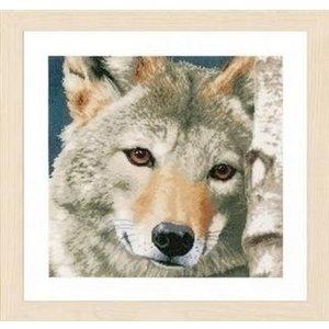 Lanarte Lanarte borduurpakket Wolf 0166758