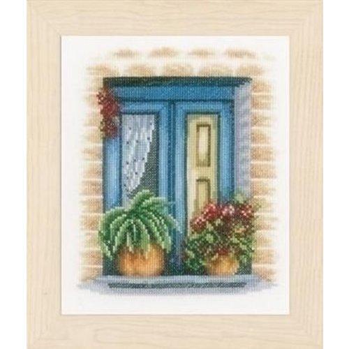 Lanarte Lanarte borduurpakket blauw raam 0167121