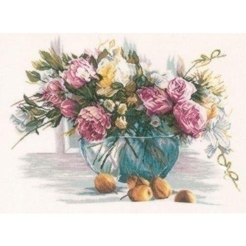 Lanarte Borduurpakket Stilleven van bloemen 0162299