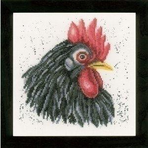 Lanarte Lanarte borduurpakket Zwarte Kip 0157489