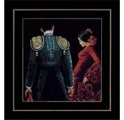 Lanarte borduurpakket Dansen en passie 0150003