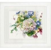 Lanarte Bos bloemen met hortensia 0151018