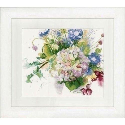 Lanarte Lanarte Bos bloemen met hortensia 0151018