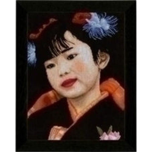 Lanarte Lanarte borduurpakket Japans meisje PN 0021214