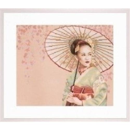Lanarte Lanarte borduurpakket Geisha PN 0008062