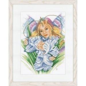 Lanarte Lanarte borduurpakket Mama en baby 0021617