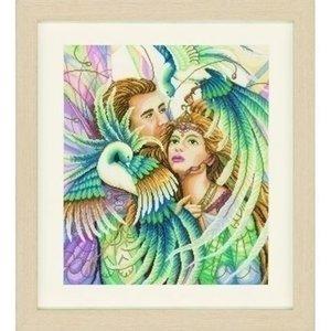Lanarte Lanarte borduurpakket Paradijsvogels 0144528