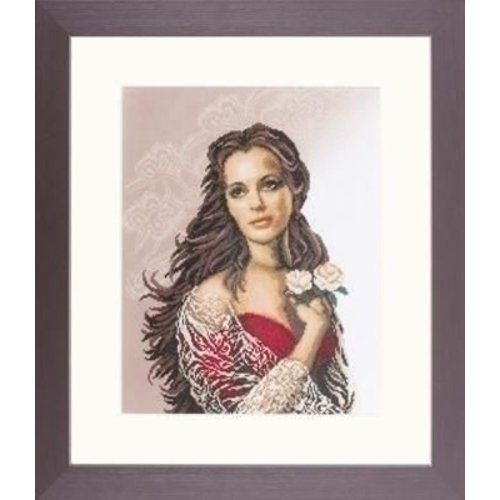 Lanarte Lanarte borduurpakket Diva 0008083