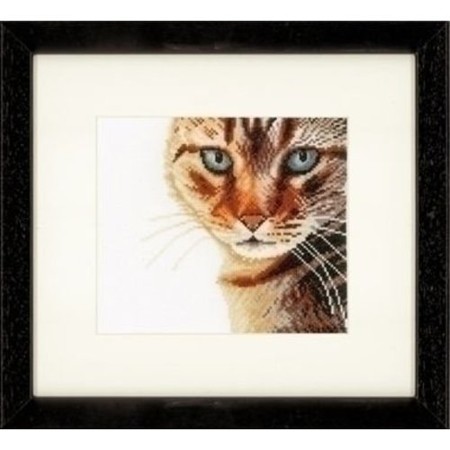 Lanarte Lanarte borduurpakket Close up poes 0021220