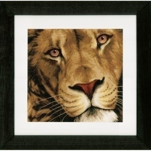 Lanarte Lanarte borduurpakket Koning der dieren 0154980