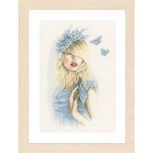 Lanarte Lanarte Blauwe vlinders 0155691