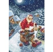 Luca S Luca S borduurpakket Kerstman b577