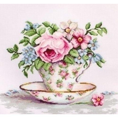Luca S Luca S Blooms in a Tea Cup ba2321