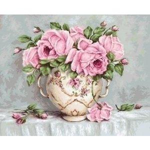 Luca S Luca S borduurpakket Pink Roses ba2319