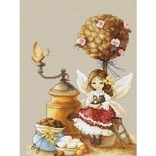 Luca S Luca S borduurpakket Coffee Fairy Luca-S b1132