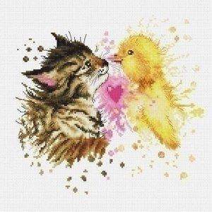 Luca S Luca S borduurpakket Kitten and Duckling B2301