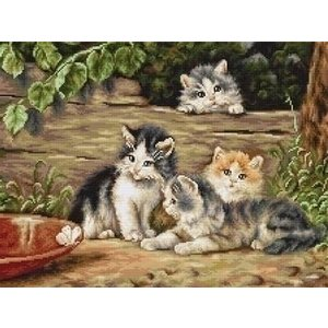 Luca S Luca S borduurpakket The Cats B556