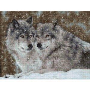 Luca S Luca S borduurpakket Two Wolves B2291